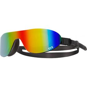 TYR Swimshades Mirrored duikbrillen zwart/bont